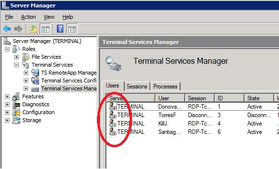 Terminal services configuration tool windows 7